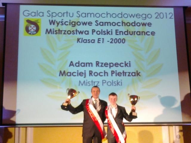 PZM gala sezon 2012