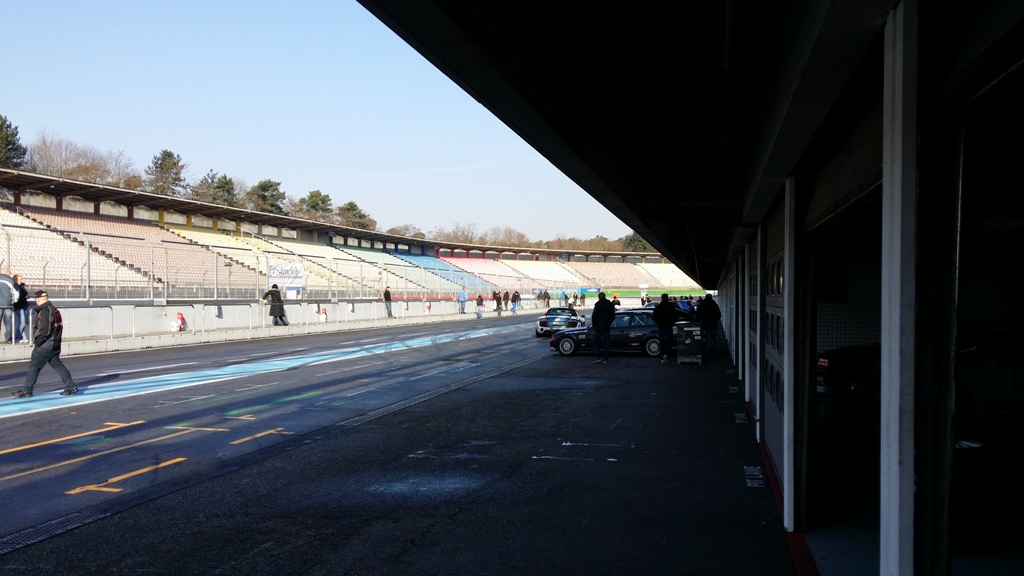 Hockenheim-Ring GP trening 2015