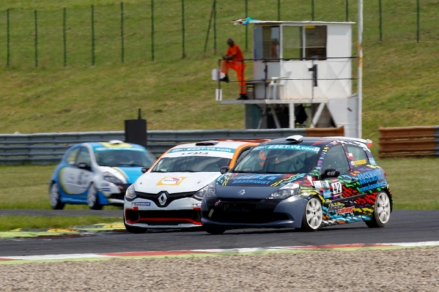 Renault Clio Cup Most 2014