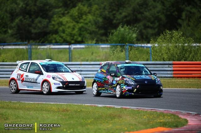 Renault Clio Cup Poznań 2014