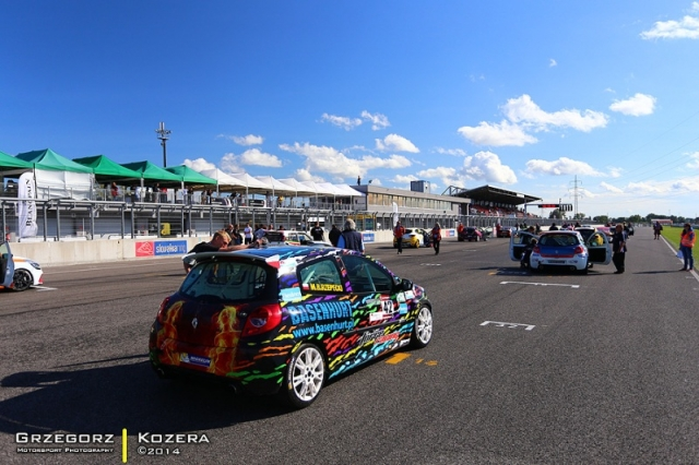 Renault Clio Cup Slovakiaring 2014