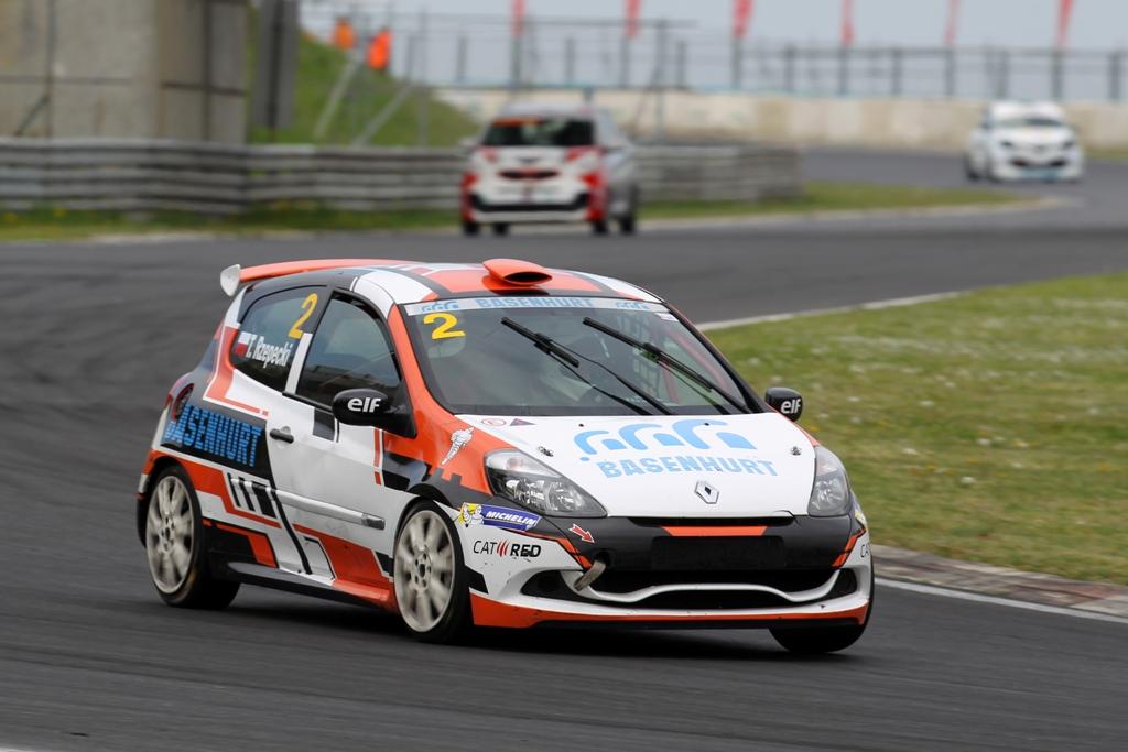 Renault Clio Cup Hungaroring 2015