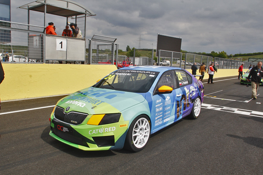 Skoda Octavia Cup Hungaroring 2016