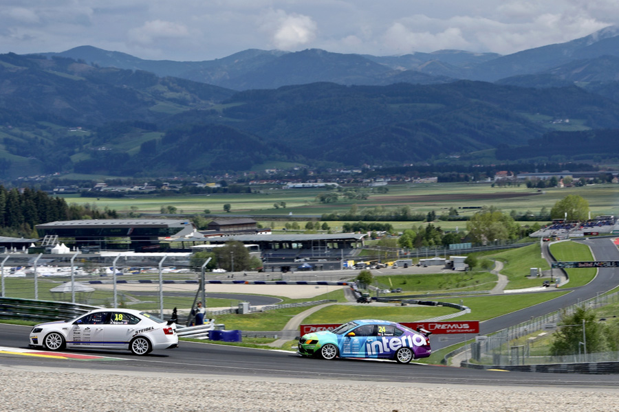 Skoda Octavia Red Bull Ring 2016