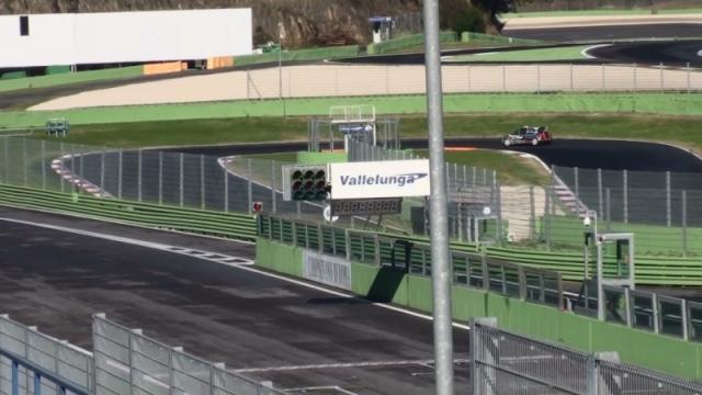 Vallelunga trening 2014