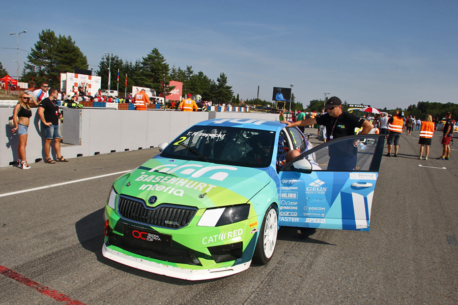 Skoda Octavia Cup Brno 2016