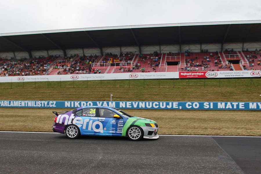 Skoda Octavia Cup Most (2) 2016